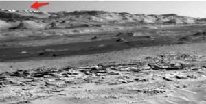 ¿Construcciones en Marte o formación de piedras naturales?