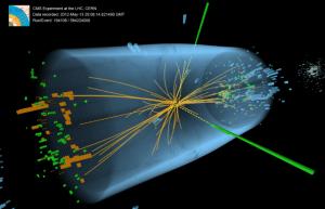 Fotos de Bosón de Higgs tomadas por las computadoras del CMS