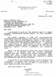 Rockefeller-Gibbons-Letter