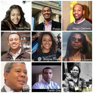 Collage los 9 Misión afrocolombiana a Washington b