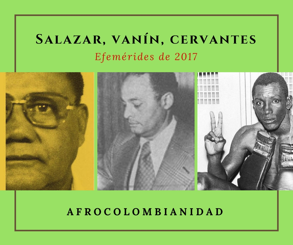 Collage Salazar, Vanin, Cervantes