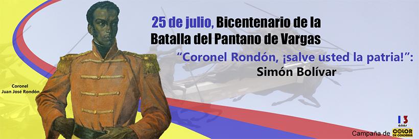 25 de julio, Bicentenario de la Batalla del Pantano de Vargas