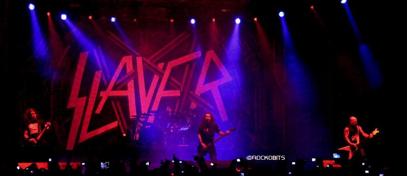 Slayer Palacio de los Deportes Bogota -2011