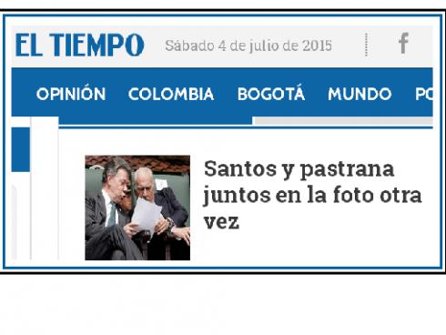 ET, Santos y pastrana, sábado julio 04 2015