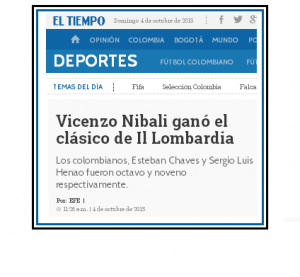 ET, Vicenzo, clásico, Lombardia; domingo octubre 04 2015