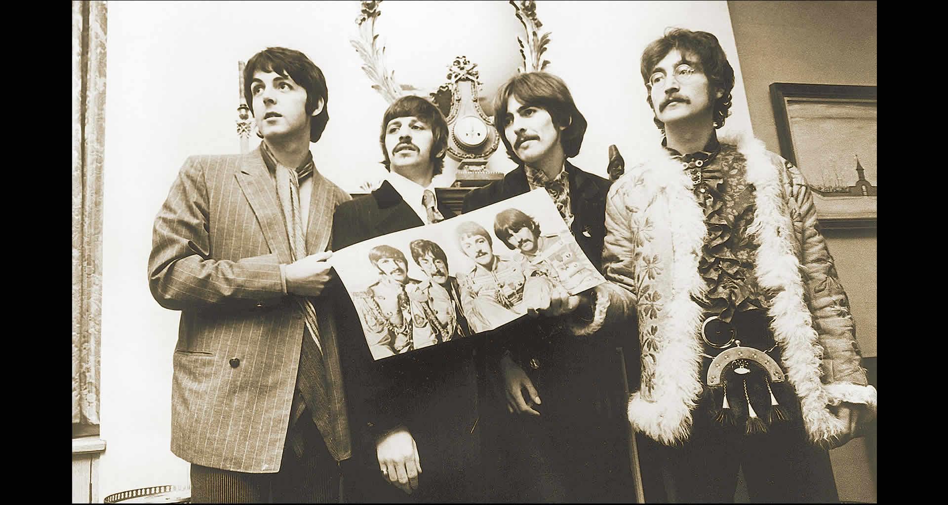 Beatles con Sargento Pimienta