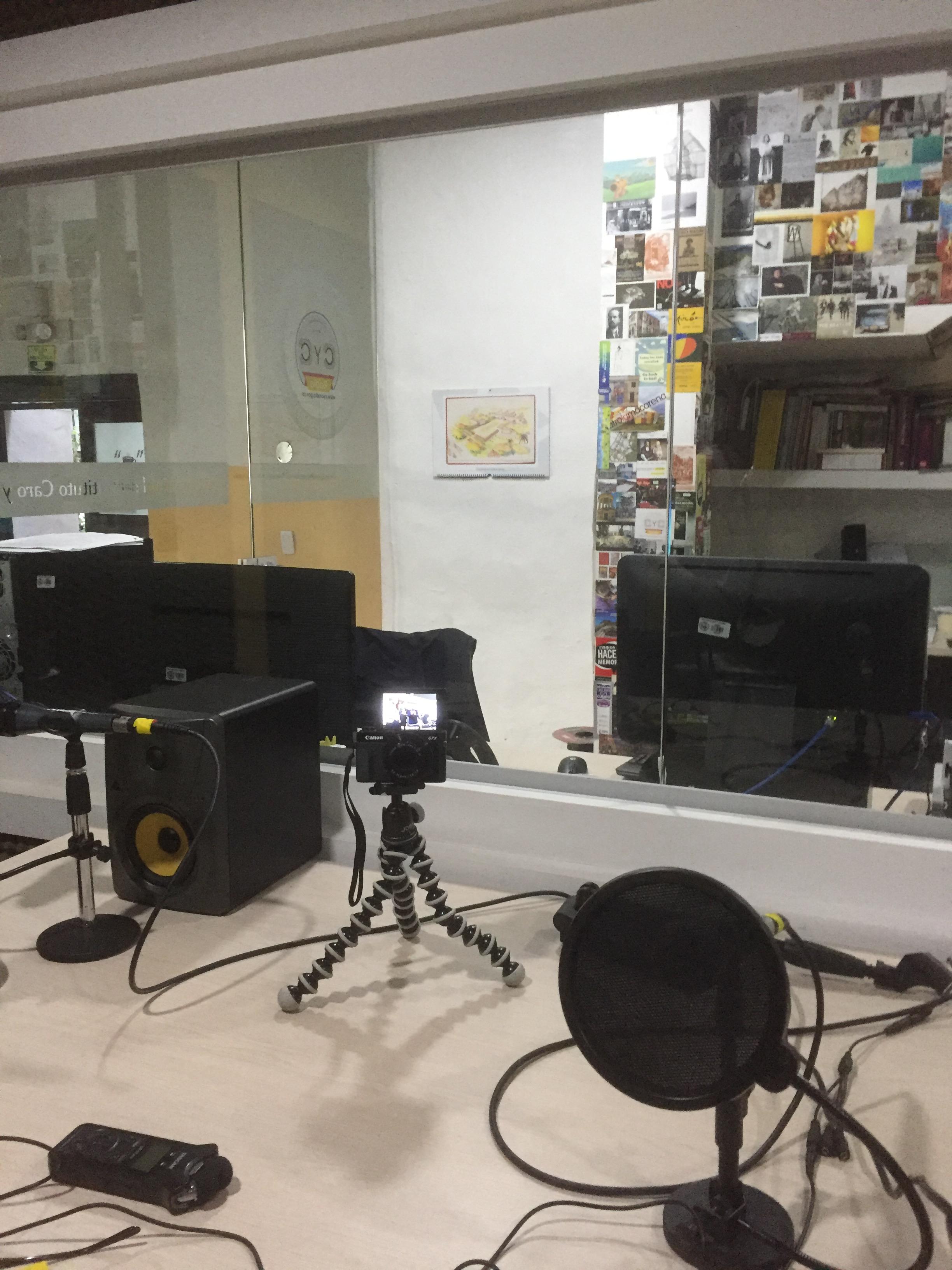 Estudio CyC Radio