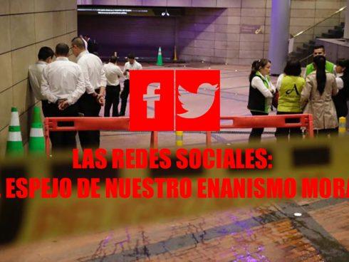 Redes sociales en el atentado de andino