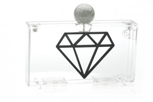 clutch de diamante