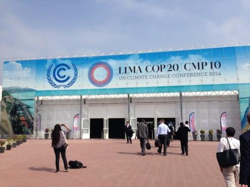 COP Lima entrancelr
