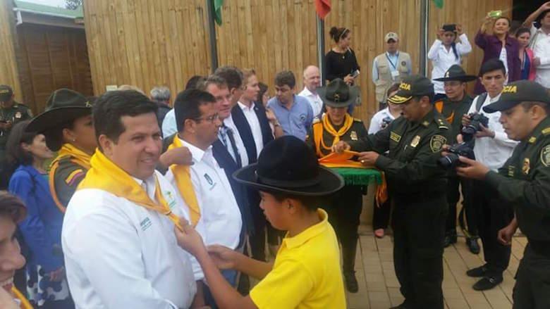 Policía Nacional apoya proyectos productivos