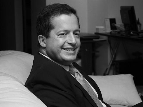 Juan Mario Laserna. Enero 2010.  Foto: Laura Rico P, La Silla Vacía