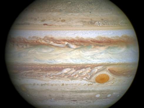 Júpiter, el gigante de gas