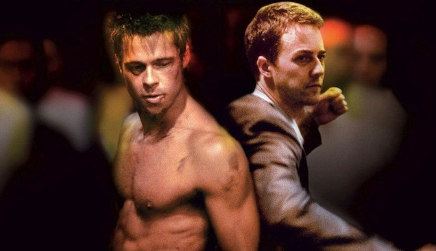 Fight Club. Dirección: David Fincher. 1999. Productora: Fox 2000 Pictures/ Regency Enterprises/ Linson Films/ Atman Entertainment/ Knickerbocker Films/ Taurus Film. Distribución: Twentieth Century Fox.