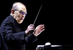 Amsterdam (Italy).- (FILE) - Italian composer Ennio Morricone conducts songs from '60 Years in Music' at the Ziggo Dome in Amsterdam, The Netherlands, 21 February 2016 (reissued 06 July 2020). Italian composer Ennio Morricone died on 06 July 2020 at the age of 91. (Países Bajos; Holanda) EFE/EPA/PAUL BERGEN *** Local Caption *** 54746974
