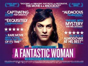 una mujer fantástica-Cartel norteamericano