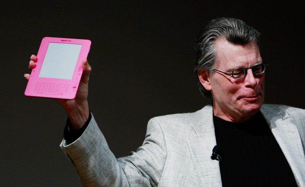 Stephen King. Foto: AFP 2009