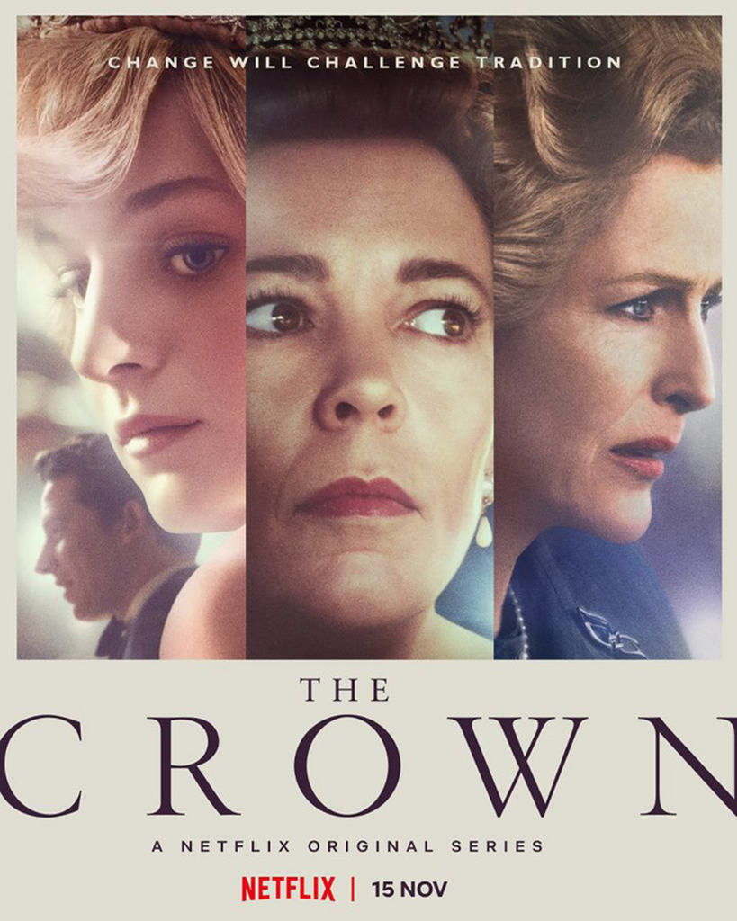 the crown - Poster de Netflix