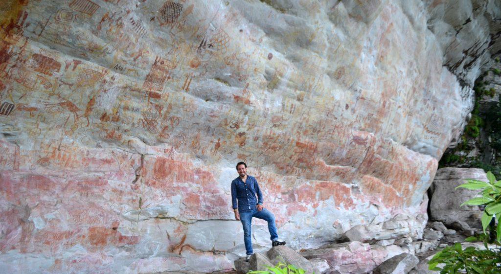 Pinturas rupestres de Nuevo Tolima