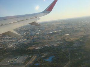 Aeropuerto Barajas e Madrid