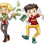 Hombres con dinero 123RF