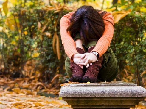 Mujer triste 123RF
