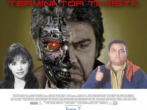 Terminator taxista, la historia del paro de taxistas en Bogotá