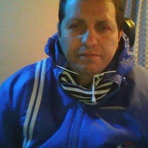 Daniel Torres, despojado de su silla de ruedas de motor y el triciclo de su microempresa - foto tomada de su WhatsApp