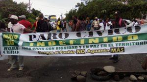 Paro en Buenaventura - foto tomada de Colombia Plural