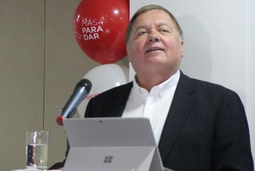 Hernán Rincón, Presidente y CEO de Avianca - foto La Sal en la Herida