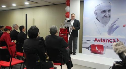 Hernán Rincón - Presidente y CEO de Avianca - foto La Sal en la Herida