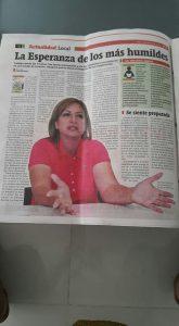 Esperanza Vargas Quimbaya, aspirante a la Cámara de Representantes por el departamento del Meta, por Coalición Colombia, #103 en el tarjetón. - foto personal