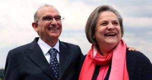 Humberto de La Calle con Clara López, su fórmula para la Vicepresidencia - foto tomada de www.semana.com