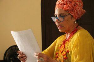 Encuentro de escritores con Amalia Lú Posso Figueroa, talento del Chocó - foto Motete