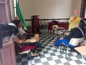 Encuentro de escritores con Amalia Lú Posso Figueroa, talento del Chocó - foto personal