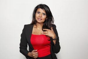 Gina Potes, cabeza de lista por el Partido de la Unidad, a la Cámara de Representantes por Bogotá, # 101 en el Tarjetón - foto personal