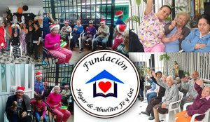 Fundación Hogar de Abuelitos Fe y Luz - foto tomada de su sitio web