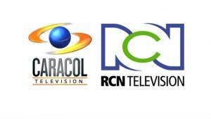 Logos de Caracol TV y RCN TV - imagen tomada de Eje21