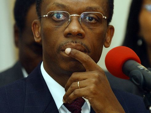 Jean-Bertrand Aristide. Foto: AFP PHOTO/ Roberto Schmidt