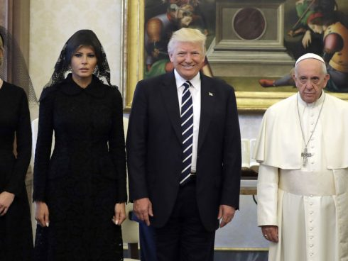 Encuentro Papa Francisco y Donald Trump