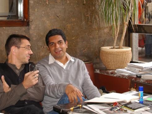 Juan Carlos Monedero interesado en la dirección y producción cinematográfica cinematográfica.