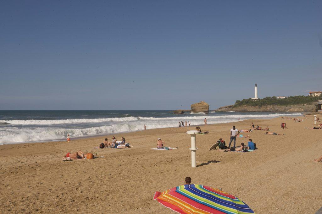 Foto: Victoria Puerta. Días de playa, cine y conversatorios.