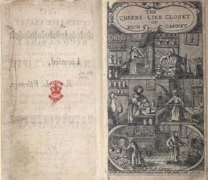 Ilustración del libro de Hanna Woolley, The Queen-Like Closet, 1670.