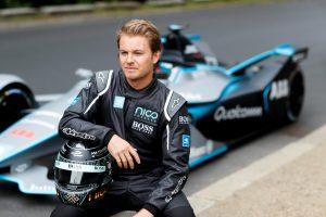 Nico Rosberg probó el nuevo modelo de carros de la Fórmula E.