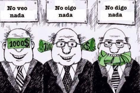 CORRUPCIÓN (caricatura de michael zegarra)