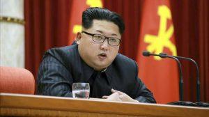 CO01 PIONGYANG COREA DEL NORTE 12 01 2016 - Fotografia de archivo del 12 de enero de 2016 que muestra al lider norcoreano Kim Jong-un durante un discurso en Piongyang Corea del Norte Kim Jong-un ordeno hoy 4 de marzo de 2016 preparar armas nucleares para usarlas en cualquier momento informo la agencia estatal de noticias en un nuevo gesto de poder de Pyongyang tras la aprobacion de nuevas sanciones de la ONU Kim apelo a la necesidad de desplegar las cabezas nucleares para la defensa nacional y de tenerlas siempre preparadas para que puedan ser disparadas en cualquier momento segun recogio la agencia norcoreana KCNA EFE Rodong Sinmun PROHIBIDO SU USO EN COREA DEL SUR