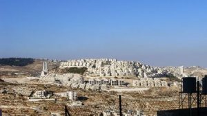 Asentamiento israelí cerca de Belén