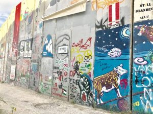 Muro que divide Israel de la ANP