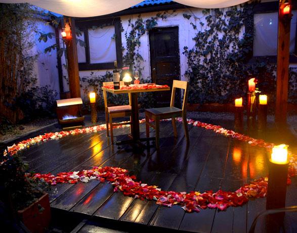 10 restaurantes rom nticos en bogot blogs el tiempo - Decoracion cena romantica ...