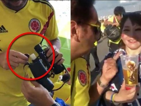 video colombiano con japoneses